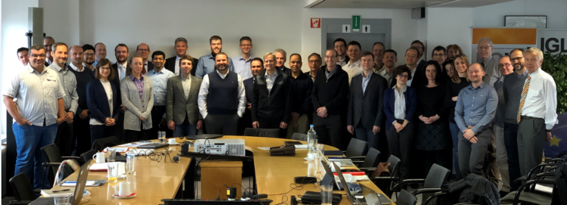 SENS4ICE consortium and members of project Advisory Board on the 4th of February 2020.