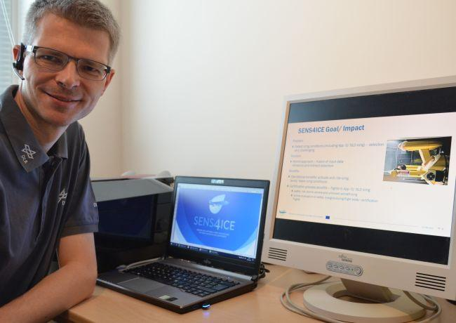 Project Coordinator Carsten Schwarz is preparing for the virtual M18 Review Meeting on the 17th of June 2020.