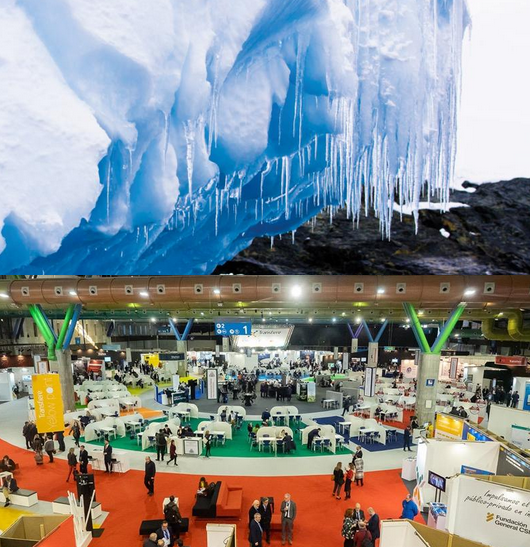 Images copyrights: Spanish Icing Platform Conference (top), Transfiere - European Meeting on Science, Technology and Innovation (bottom)